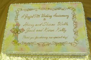 Golden Anniversary For Two Couples